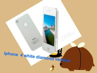 iphone  4 white diamond version