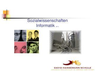 Sozialwissenschaften  Informatik  (2011)