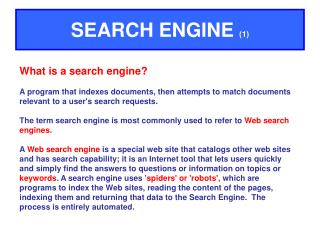 SEARCH ENGINE 1