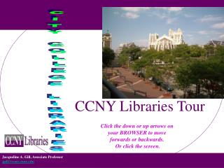 CCNY Libraries Tour