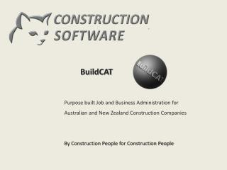 BuildCAT INTRODUCTION