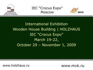 "IEC ""Crocus Expo"" Moscow"