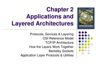 Chapter 2  Applications and Layered Architectures