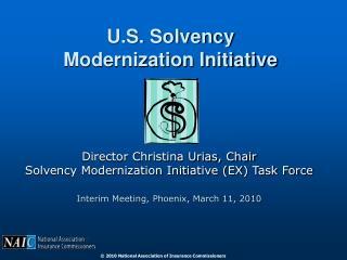 U.S. Solvency Modernization Initiative