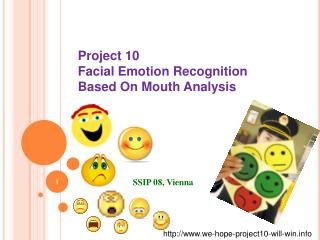 Project 10 Facial Emotion Recognition  Based On Mouth Analysis