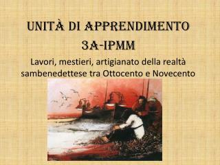 Unità di apprendimento 3A-IPMM
