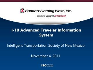 I-10 Advanced Traveler Information System