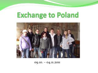 Exchange  to Poland