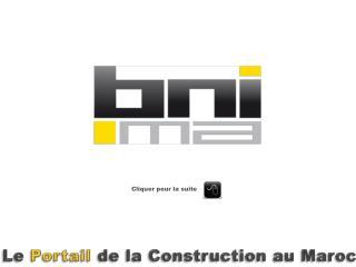 Le Portail de la Construction au Maroc