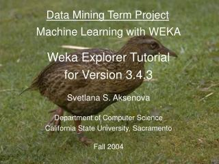 Data Mining Term Project