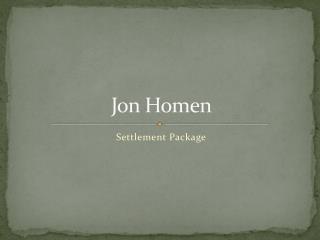 Jon Homen