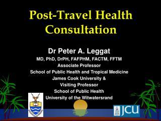 Post-Travel Health Consultation