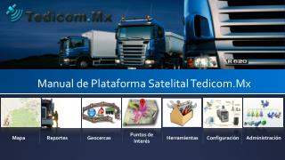 Manual de Plataforma Satelital Tedicom.Mx