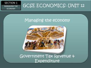 Managing the economy