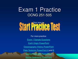 Exam 1 Practice