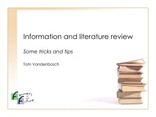Information and literature review