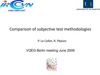 Comparison of subjective test methodologies