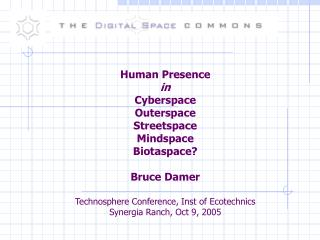 Cyberspace: where did it come from?