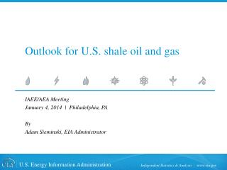 Outlook for U.S. shale oil and gas