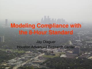 Modeling Compliance with the 8-Hour Standard