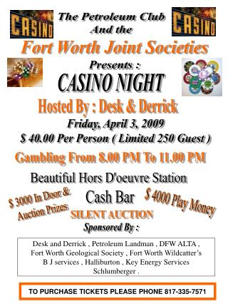 Fort Worth Joint Societies