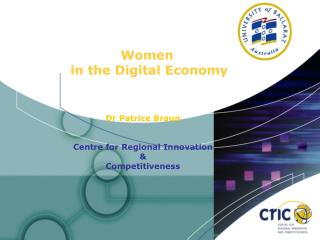 Women  in the Digital Economy