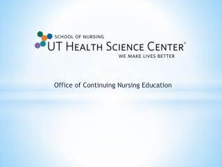 Office of Continuing Nursing Education