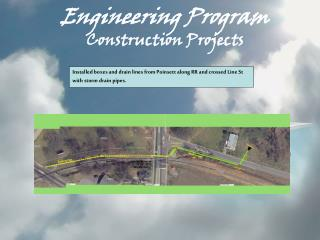 Engineering Program Construction Projects