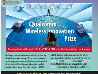 Qualcomm Wireless Prize