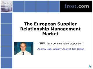 The European Supplier Relationship Management Market