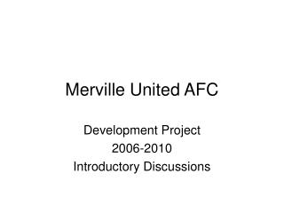 Merville United AFC
