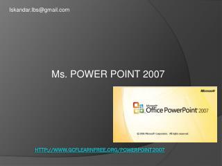 gcflearnfree/powerpoint2007