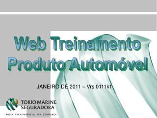 Web Treinamento Produto Automóvel