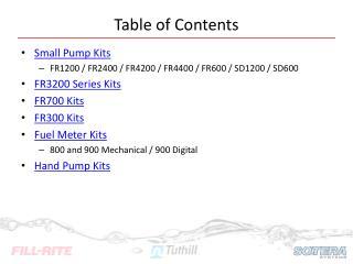 Fill-Rite KIT300BD Conversion Kit to Bio-Diesel//E85 Pump for FR300 Series