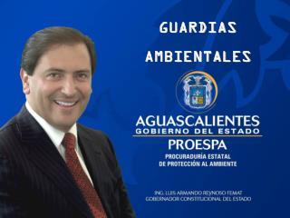 GUARDIAS AMBIENTALES