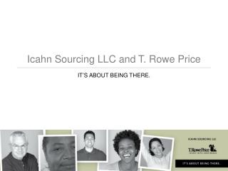 Icahn Sourcing LLC and T. Rowe Price