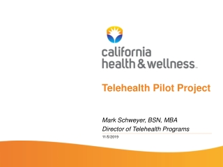 Quality Improvement Organizations and  Telehealth