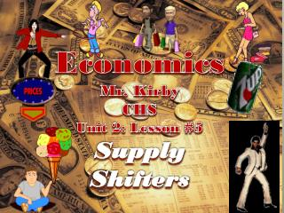Economics Mr. Kirby CHS Unit 2: Lesson  # 5 Supply Shifters