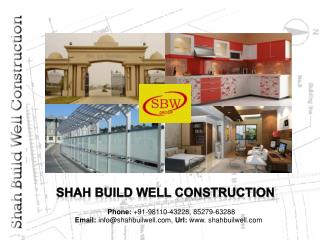 Shah Build Well Construction