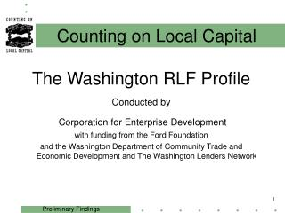 Counting on Local Capital