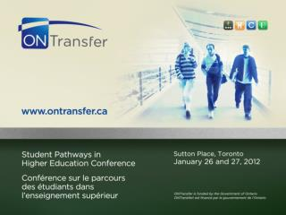 The College-University Consortium Council Transfer Project  in  Human Resource Management