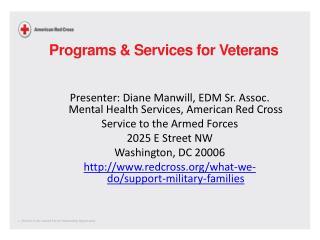 Programs & Services for Veterans