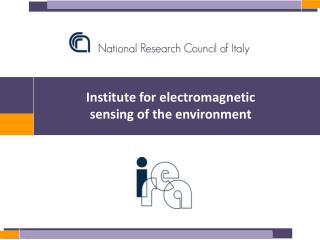 Institute for electromagnetic  sensing of the environment