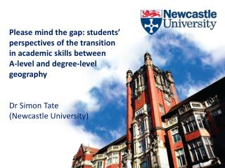 Please mind the gap: students' perspectives of the transition in academic skills between