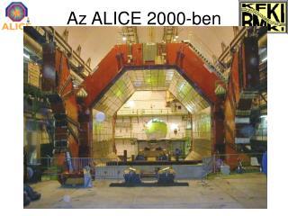 Az ALICE 2000-ben