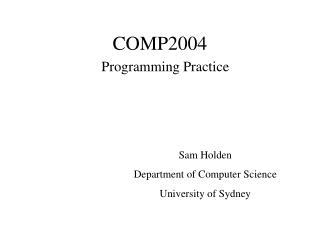 COMP2004