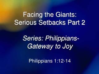 Philippians 1:12-14