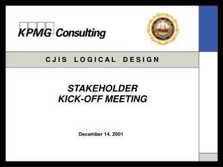 STAKEHOLDER KICK-OFF MEETING