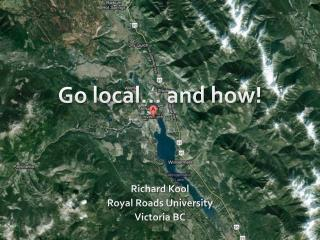 Go local… and how!