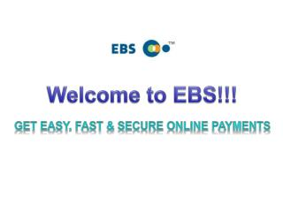 Welcome to EBS!!!